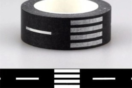 Masking Tape Weg met zebrapad