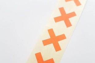 Cross mini orange