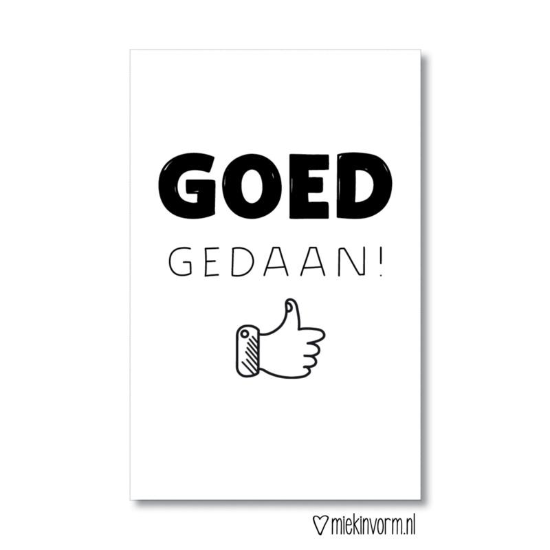 Goed Gedaan
