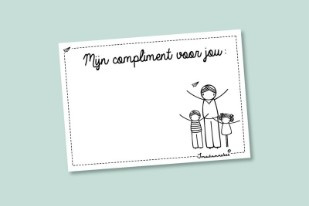 Complimentenblokje MEESTER