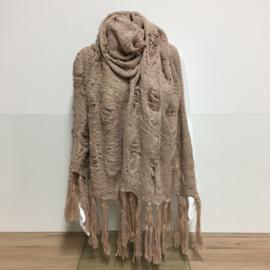 Sjaal Hippie - Beige