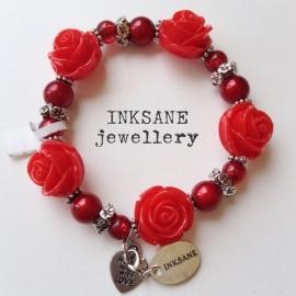 Roos Armband - Rood