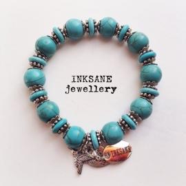 Mix & Match Armband - Turquoise