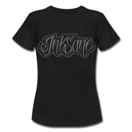 T-shirt, vrouw, grijs logo