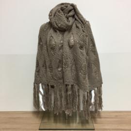 Sjaal Hippie - Taupe