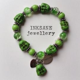 Boeddha Armband - Groen
