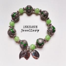 Kashmiri Armband - Groen