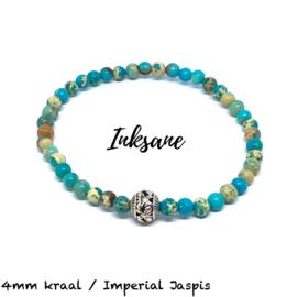 Natuursteen Armband Imperial Jaspis / Turquoise