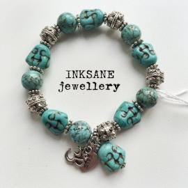 Boeddha Armband - Turquoise
