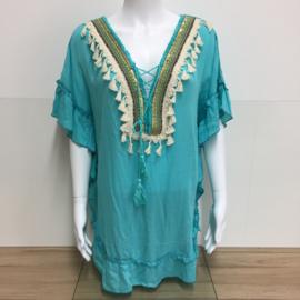 Tuniek Boho - Turquoise