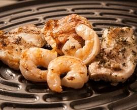 Gourmetschaal Vis & vlees