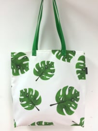 Shopper - Monstera blad