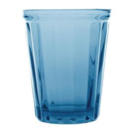 Cabot glazen tumbler blauw 26cl