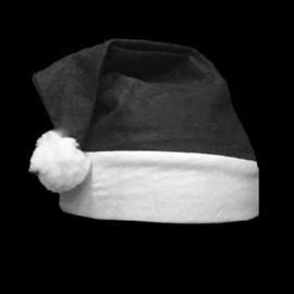 Kerstmutsjes - zwart
