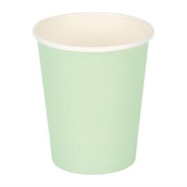Fiesta koffiebekers enkelwandig turquoise 225ml