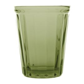 Cabot glazen tumbler groen 26cl