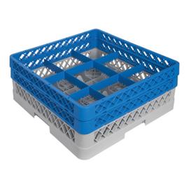 CaterRacks bekerglaskorf 9 vaks CR09-2A