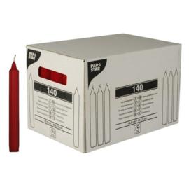 kaarsen (19,5cm), Rood | Ø21,5mm