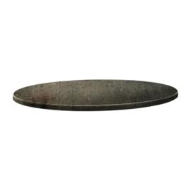 Topalit Classic Line rond tafelblad beton 60(Ø)cm