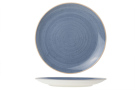 TERRA BLUE PLAT BORD D24CM