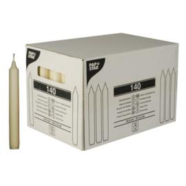 kaarsen (19,5cm), Champagne | Ø21,5mm