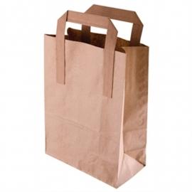 Fiesta Green bruine papieren tassen recyclebaar groot