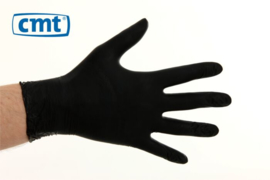 CMT Handschoenen Soft Nitril Poedervrij Zwart XL