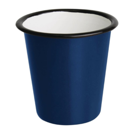 Emaille beker blauw 31cl