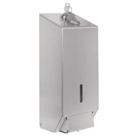Jantex RVS zeepdispenser 1ltr