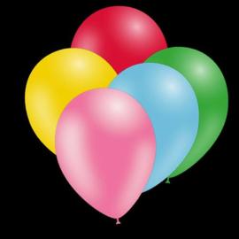 Feest ballonnen - 30cm - Multicolor pack