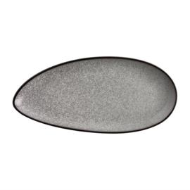 Olympia Mineral bladvormig bord 30,5 x 14,5cm