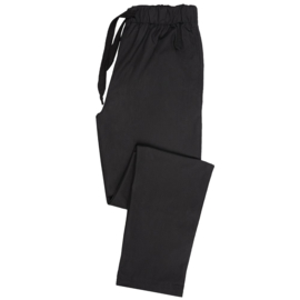 Essential broek met elastische taille zwart