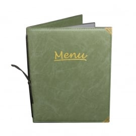 Menumap Madeleine A4 groen