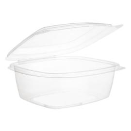 Vegware composteerbare PLA voedseldozen met scharnierdeksel 47,3cl