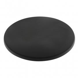 Tafelblad rond 60cmØ zwart BHgg644
