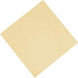 Professionele tissueservetten crème 33x33cm