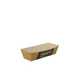 Snackbakje A5 (Good Food), Duurzaam Karton | 10x3,3x3cm