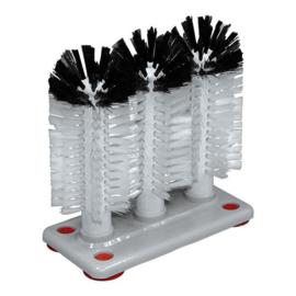 Glazenspoelborstel - nylon laag