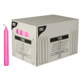 kaarsen (19,5cm), Roze | Ø21,5mm