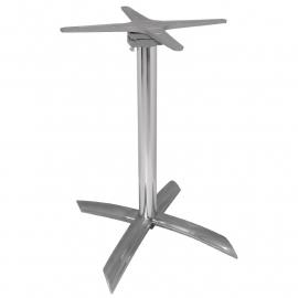Tafelpoot Aluminium OPKLAPBAAR 68 cm hoog