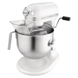 KitchenAid professionele mixer wit 6,9L