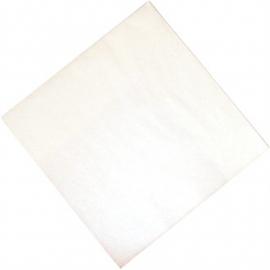 Professionele tissueservetten wit 33x33cm