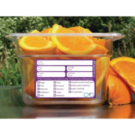 PuraCycle herbruikbare allergeenlabels (20 stuks)