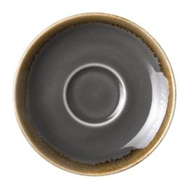 Olympia Kiln espressoschotels grijs 11,5cm