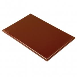 Snijplank bruin 25 mm dik
