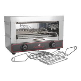 CaterChef tosti apparaat RVS 3 klemmen