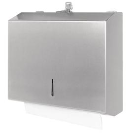 Jantex RVS handdoekdispenser