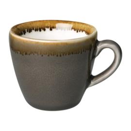 Olympia Kiln espressokopjes grijs 8,5cl