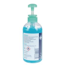 Handgel pompje 70% alcohol - 500ml