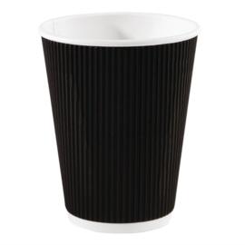 Fiesta koffiebekers met geribbelde wand 34cl